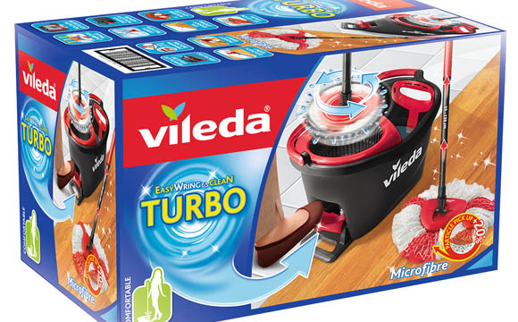 Nonfood, Elektrokleingeräte - Bronze: Vileda Turbo Easy Wring & Clean / Vileda