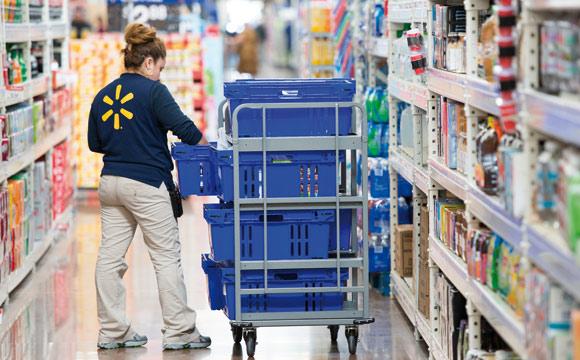 Walmart: Überwachung im Kassenbereich