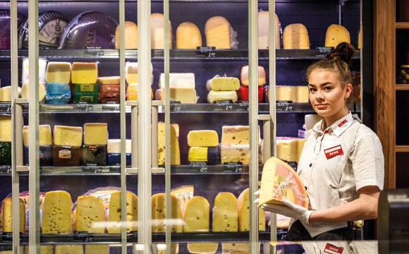 Käse-Bedienungstheken: Fachkraft für die Käsetheke