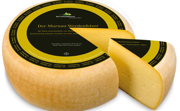 Murnau Werdenfelser Käse: Milch einer seltenen Rinderrasse