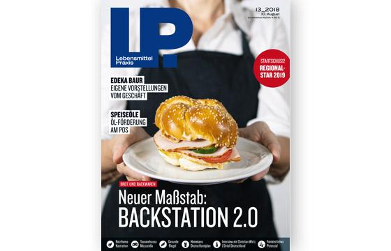 Ausgabe 13 vom 10. August 2018: Neuer Maßstab: Backstation