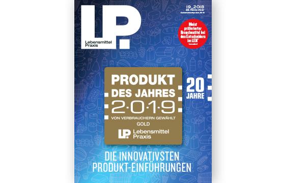 Ausgabe 19 vom 23. Novermber 2018: Produkt des Jahres 2019