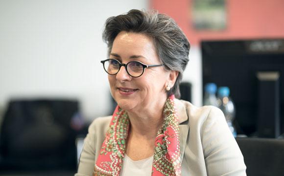 Interview mit Elisabeth Wagner-Wehrborn:Mit Premium behauptet