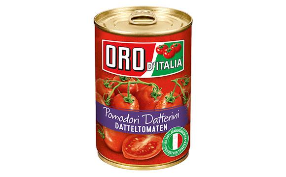 Obst und Gemüse - Bronze: Oro d`Italia Pomodori Datterini / Hengstenberg