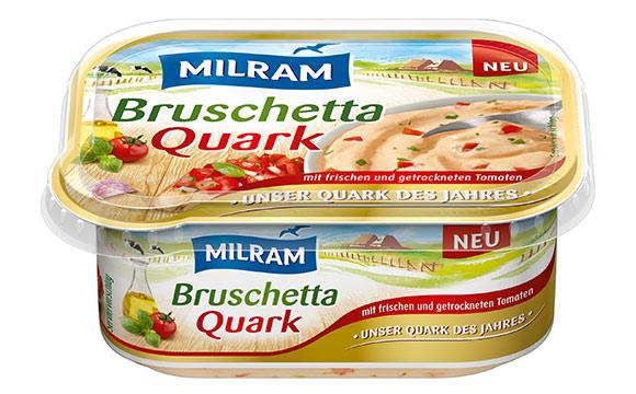 Milram Bruschetta-Quark / DMK Deutsches Milchkontor