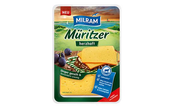Molkereiprodukte Gelbe Linie - Bronze: Milram Müritzer herzhaft / DMK Deutsches Milchkontor