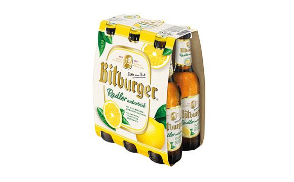 Bitburger Radler Naturtrüb / Bitburger Braugruppe