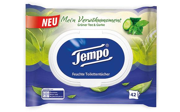 Tempo Feuchte Toilettentücher Mein Verwöhnmoment / Essity