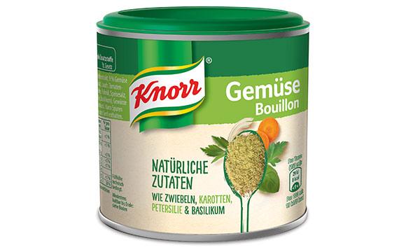 Knorr Bouillon natürliche Zutaten / Unilever Deutschland