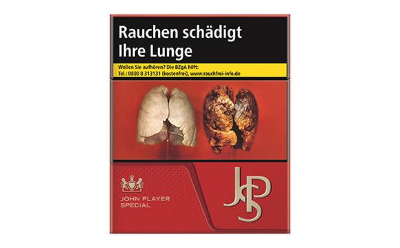 Tabakwaren, Zigaretten - Bronze: John Player Special Zigaretten JPS 9,00 Euro / Reemtsma Cigarettenfabriken