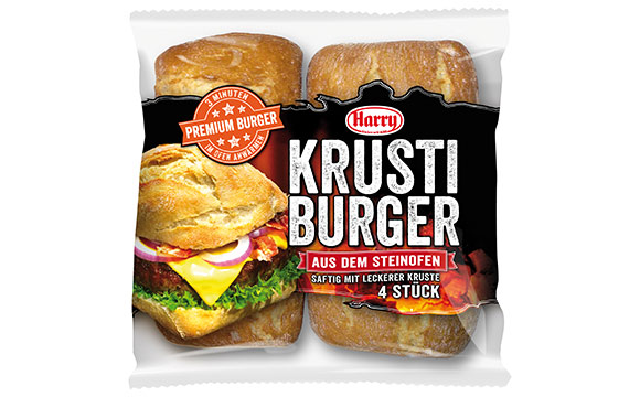 Brot und Backwaren - Bronze: Harry Krusti Burger / Harry-Brot