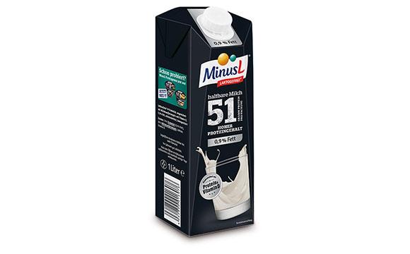 MinusL Proteinmilch / Omira