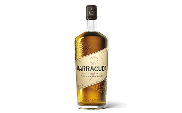 Spirituosen - Bronze: Barracuda Spiced Rum / Schwarze & Schlichte