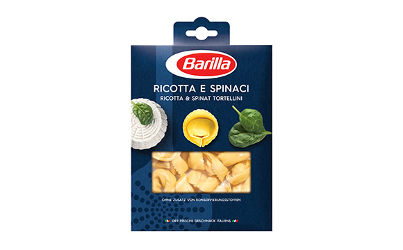 Chilled Food - Gold: Barilla Frische Tortellini / Barilla Deutschland