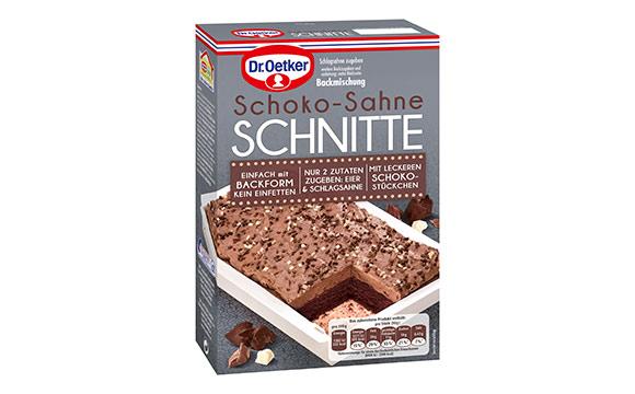 Kuchen und Backmischungen - Gold: Dr. Oetker Backmischung Kuchenschnitte / Dr. August Oetker Nahrungsmittel