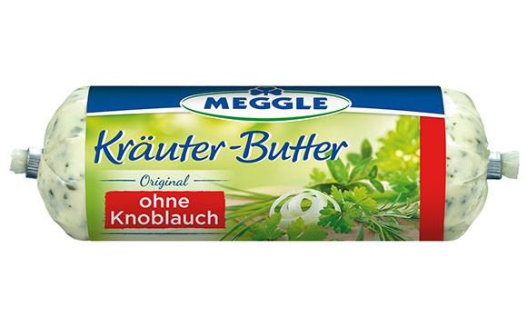 Meggle Kräuterbutter ohne Knoblauch / Molkerei Meggle Wasserburg