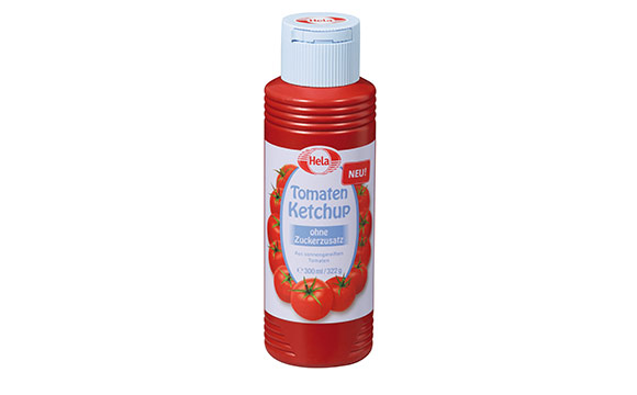 Hela Tomaten Ketchup ohne Zuckerzusatz / Hela Gewürzwerk Hermann Laue