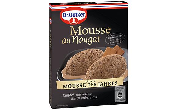 Dr. Oetker Unsere Mousse des Jahres Mousse au Nougat / Dr. August Oetker Nahrungsmittel