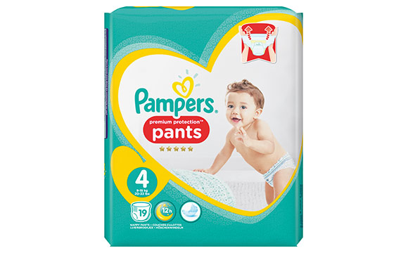 Pampers Windeln Premium Protection Pants / Procter & Gamble