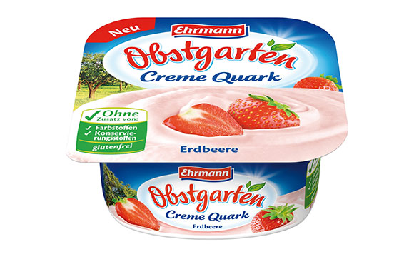 Obstgarten Creme Quark / Ehrmann