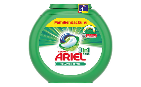 Ariel 3in1 Pods Familienpackung / Procter & Gamble