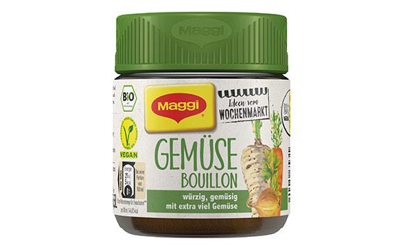 Maggi Ideen vom Wochenmarkt Bio-Bouillon / Nestlé