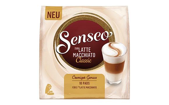 Kaffee, Tee, Kakao - Gold: Senseo Typ Latte Macchiato / Jacobs Douwe Egberts