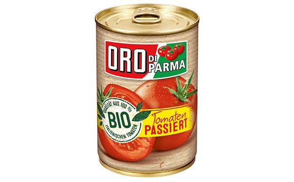Obst und Gemüse - Silber: Oro di Parma Bio / Hengstenberg