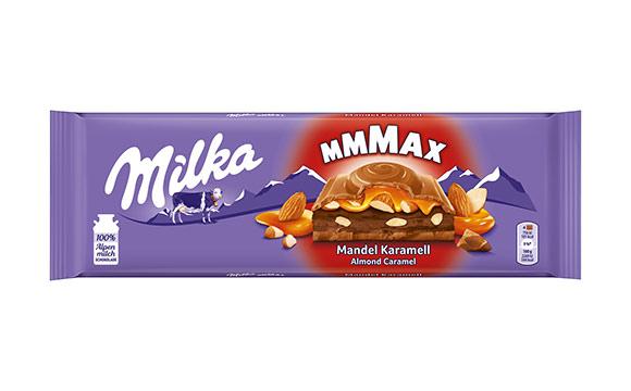 Milka Großtafel Mandel Karamell / Mondelez Deutschland Services