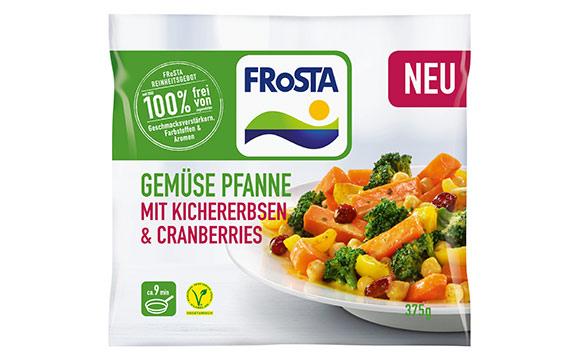 Gemüse Pfannen mit Superfood / Frosta Tiefkühlkost
