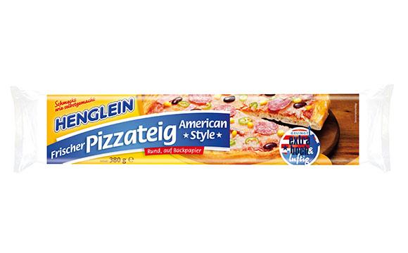"""Henglein Frischer Pizzateig """"American Style"""" / Hans Henglein & Sohn"""