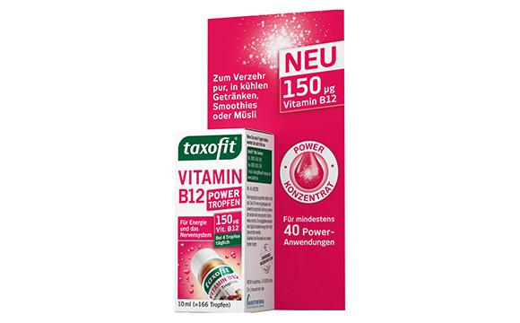 Taxofit Vitamin B12 Power Tropfen / MCM Klosterfrau Vertriebsgesellschaft