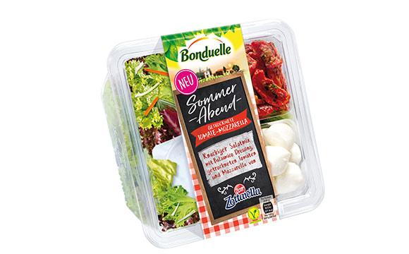 Gekühlte To-go-Produkte - Silber: Bonduelle Salatschalen / Bonduelle Deutschland