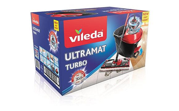 Nonfood / Elektrokleingeräte - Silber: Vileda Ultramat Turbo 2in1 / Vileda
