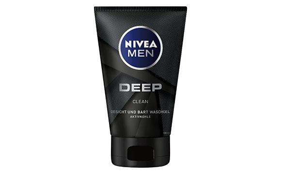Männerpflege und -kosmetik - Silber: Nivea Men Deep / Beiersdorf