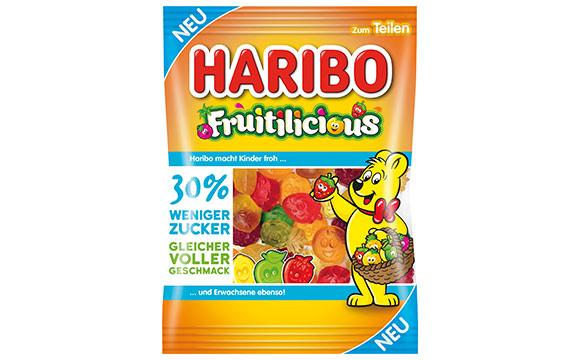 Zuckerwaren - Silber: Fruitilicious / Haribo