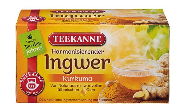 Teekanne Harmonisierender Ingwer-Kurkuma / Teekanne