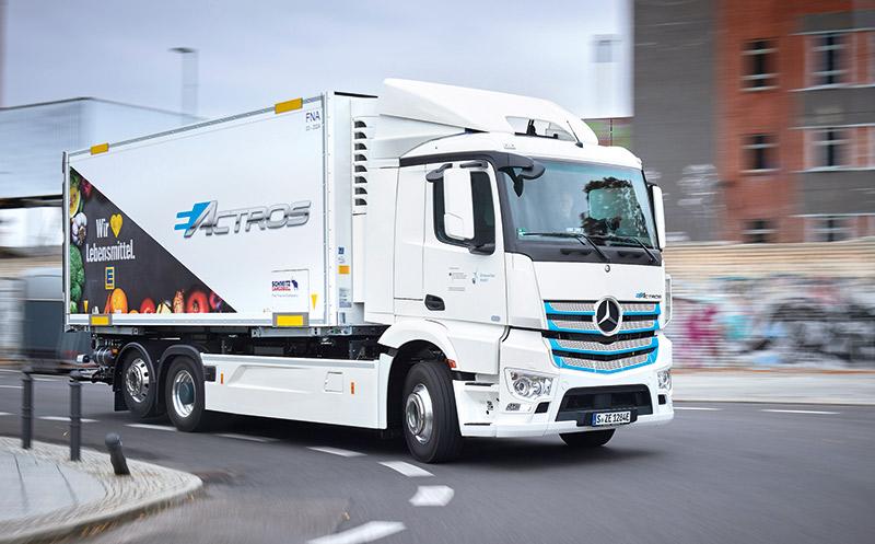 Nutzfahrzeuge: Logistik für die Zukunft