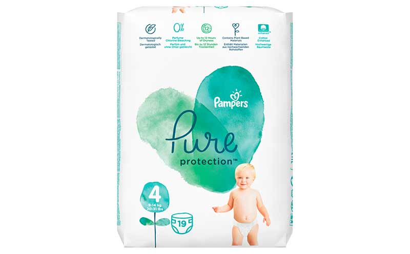 Pampers Pure Protection / Procter & Gamble