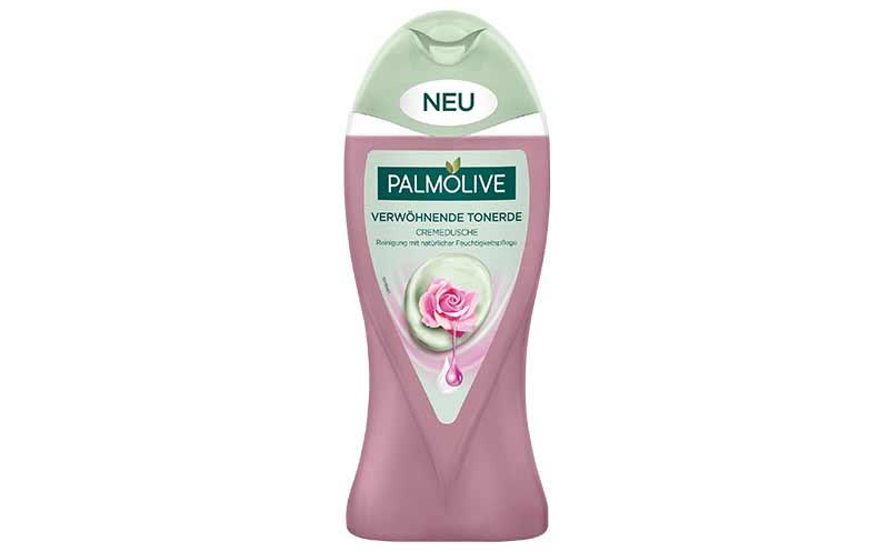 Bad- und Duschpflege - Bronze: Palmolive Verwöhnende Tonerde Cremedusche / CP Gaba