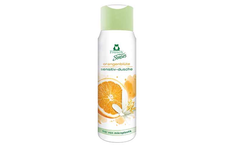 Frosch Senses Orangenblüte Sensitiv-Dusche / Werner & Mertz