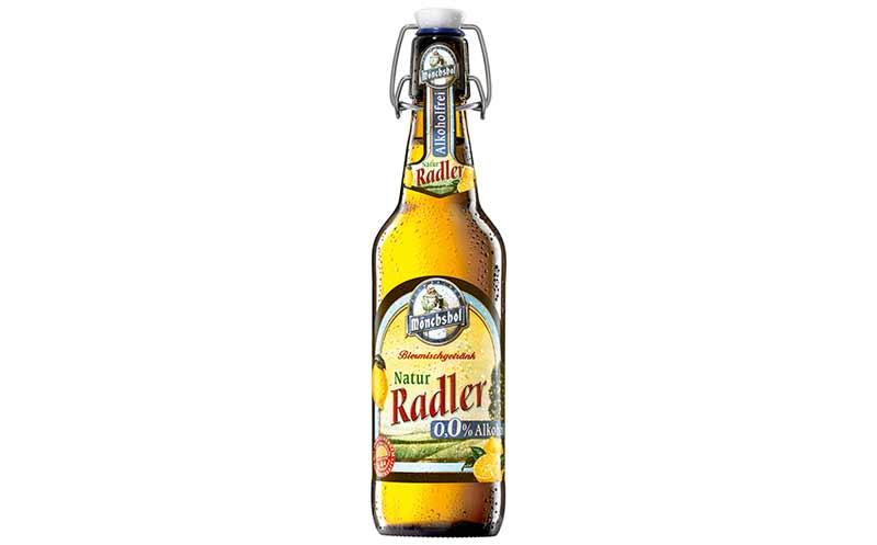 Bier - Bronze: Mönchshof Radler Alkoholfrei 0,0% / Kulmbacher Brauerei