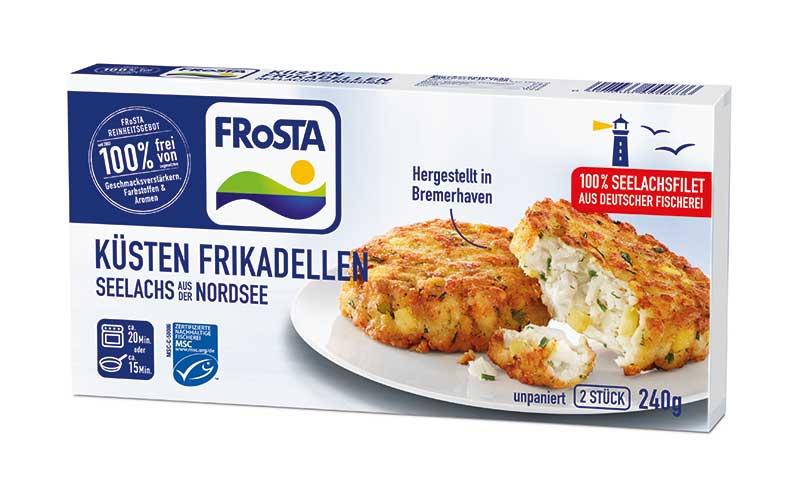 Frosta Küsten Frikadelle / Frosta Tiefkühlkost
