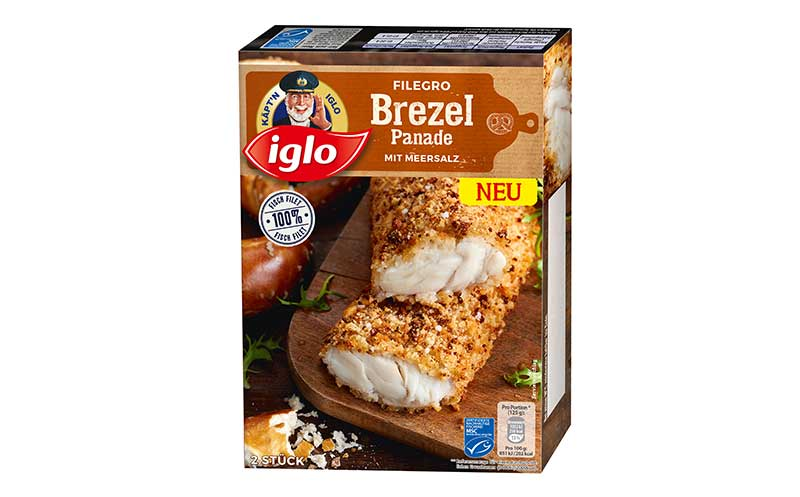 Iglo Filegro mit Brotpanade / Iglo