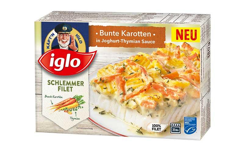 Iglo Schlemmerfilet Bunte Karotten / Iglo