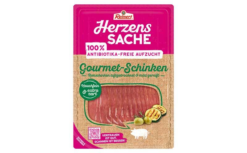 Fleisch, Wurst und Geflügel - Gold: Herzenssache Gourmet-Schinken / H. & E. Reinert GmbH