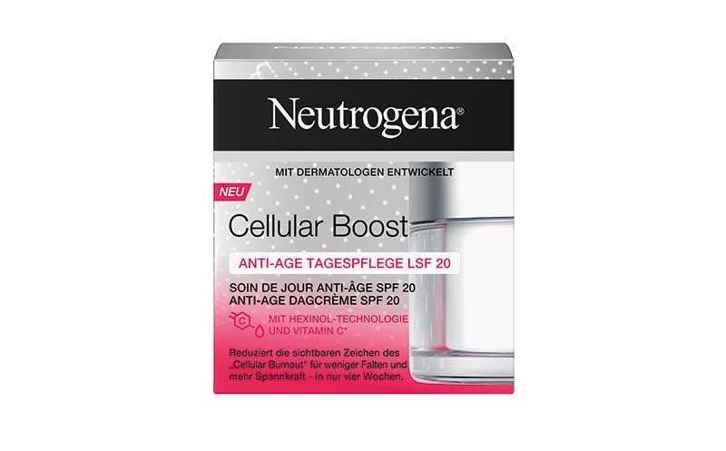 Neutrogena Cellular Boost / Johnson & Johnson