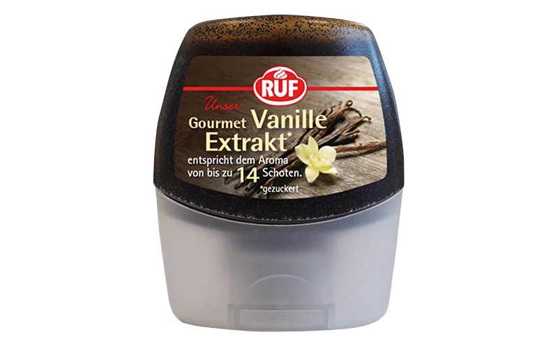 Gewürze/Würzen, Fix-Produkte - Gold: Ruf Gourmet Vanille Extrakt / Ruf Lebensmittelwerk