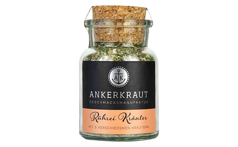Gewürze/Würzen, Fix-Produkte - Silber: Ankerkraut Rührei-Kräuter / Rila Feinkost-Importe