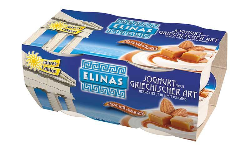 Joghurt und Desserts - Gold: Elinas Jahres-Edition Karamell-Mandel / Hochwald Foods